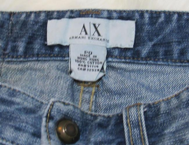 A|X Armani Exchange Mini Skirt Blue Image 2