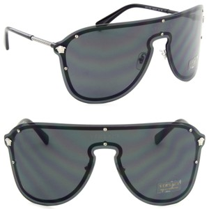 Versace Versace Pilot Mask Sunglasses VE2180 44mm Unisex Sunglasses