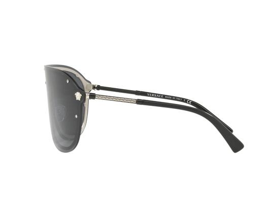 Versace Versace Pilot Mask Sunglasses VE2180 44mm Unisex Sunglasses Image 2