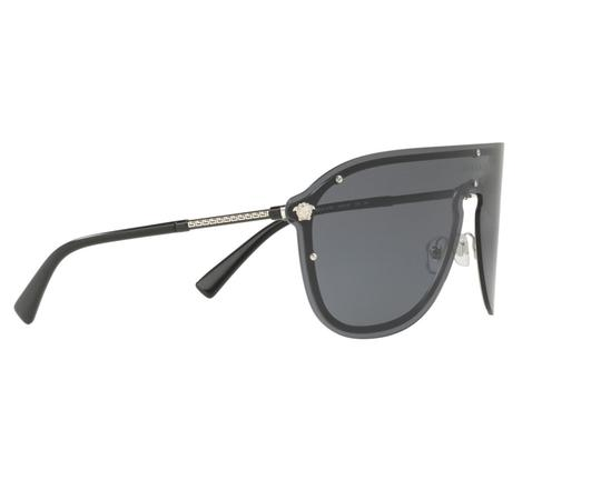 Versace Versace Pilot Mask Sunglasses VE2180 44mm Unisex Sunglasses Image 3