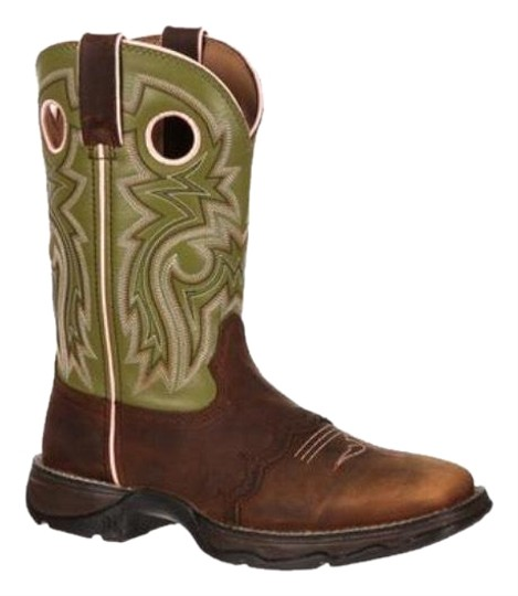 Durango brown/green/pink Boots Image 0
