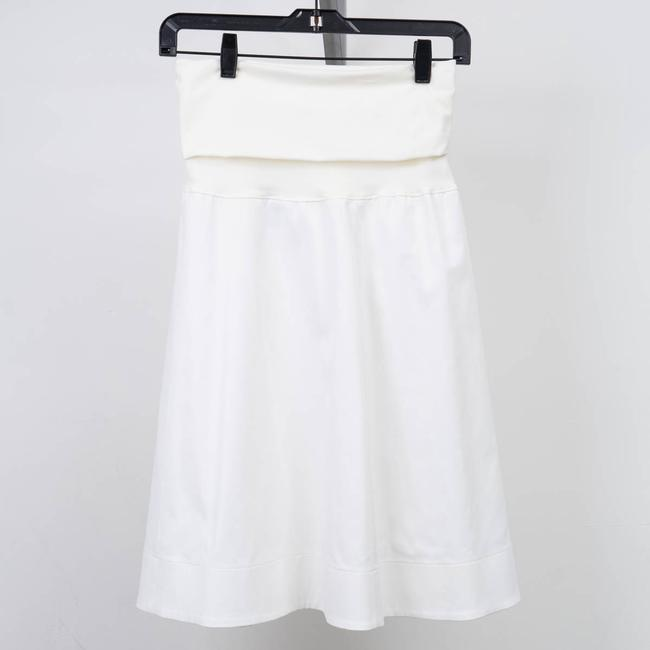 Wolford Bandeau Convertible Dress Skirt White Image 1