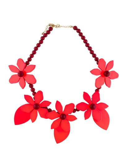 Preload https://img-static.tradesy.com/item/24431219/kate-spade-red-lovely-lilies-necklace-0-0-540-540.jpg
