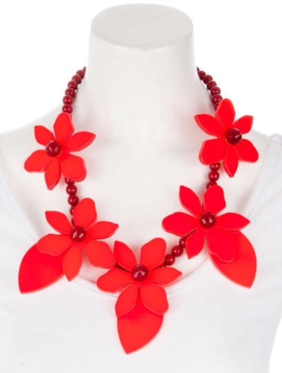 Kate Spade Kate Spade Lovely LIlies Necklace NWT Image 1