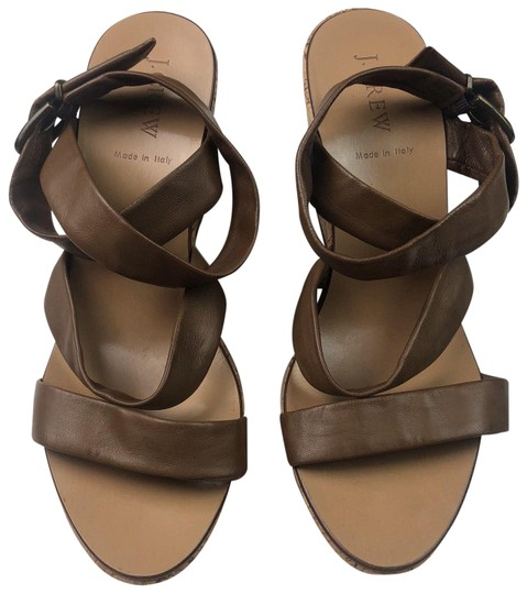 Preload https://img-static.tradesy.com/item/24431234/jcrew-brown-sandals-cork-leather-italy-wedges-size-us-10-regular-m-b-0-1-540-540.jpg
