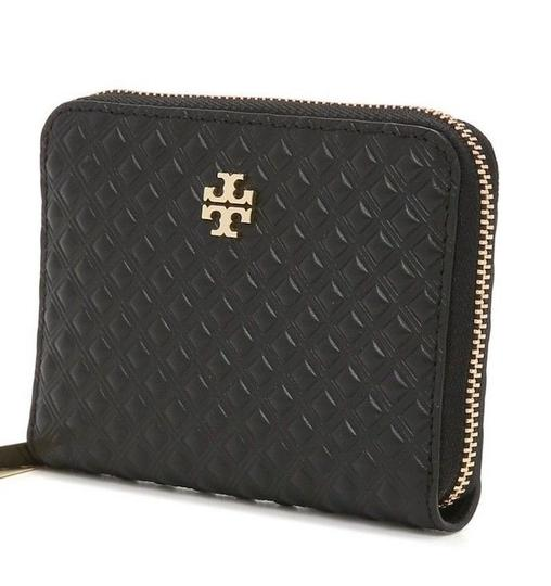 Tory Burch Marion Embossed Zip Coin Case