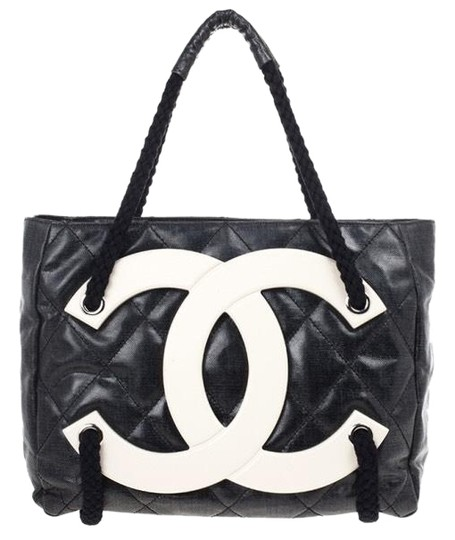 Preload https://img-static.tradesy.com/item/24431256/chanel-shopping-rare-mint-xl-yacht-boating-tote-black-coated-canvas-cross-body-bag-0-2-540-540.jpg