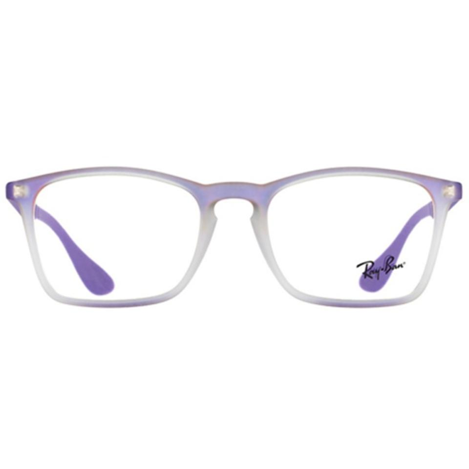 51c130bb6eeff Ray-Ban Violet Gradient Rubber Frame   Demo Customisable Lens Rx7045 ...