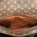 Louis Vuitton Vintage Monogram Canvas Leather Cross Body Bag Image 8