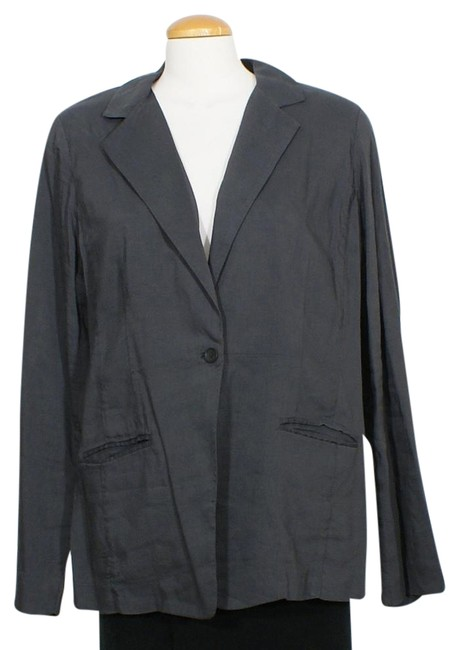 Preload https://img-static.tradesy.com/item/24431330/eileen-fisher-graphite-gray-linen-visocse-stretch-shaped-jacket-size-16-xl-plus-0x-0-1-650-650.jpg