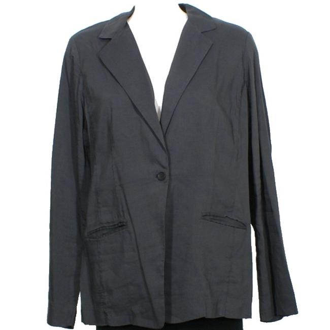 Eileen Fisher Graphite Gray Jacket Image 1