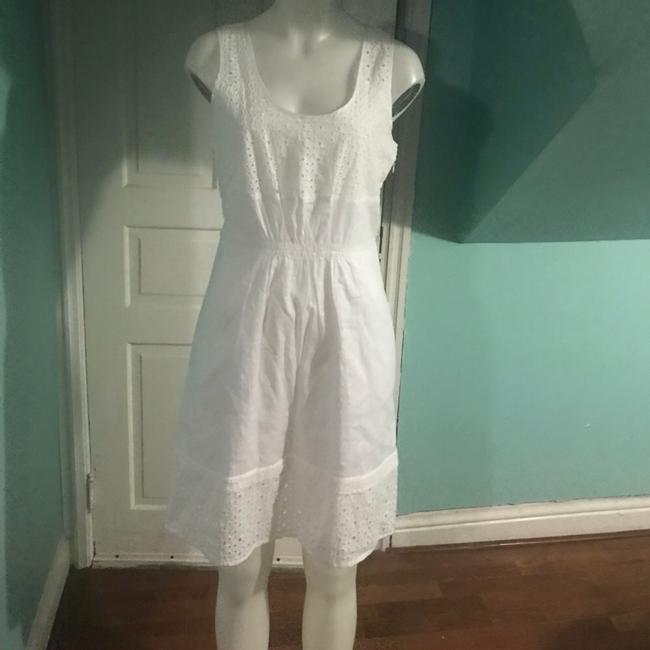 Madewell short dress White Eyelet Lovesong on Tradesy Image 1