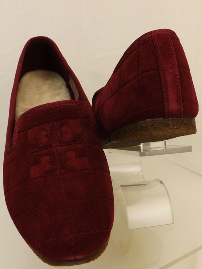 Tory Burch Red Flats Image 3
