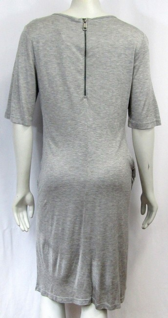 Burberry short dress grey Ruched Large on Tradesy Image 1