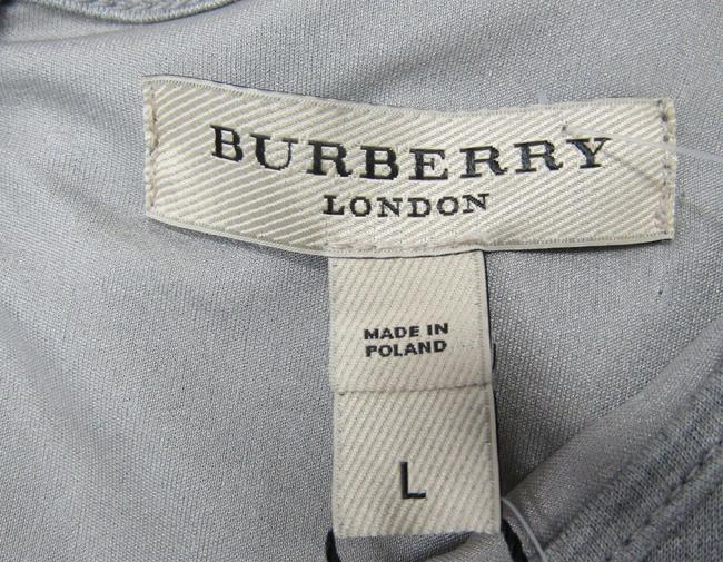 Burberry short dress grey Ruched Large on Tradesy Image 6
