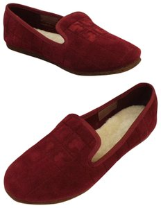 Tory Burch Red Flats