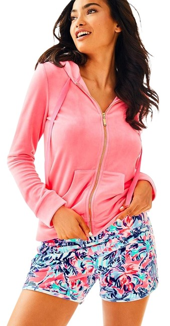 Preload https://img-static.tradesy.com/item/24431567/lilly-pulitzer-pink-larina-velour-zip-up-hoodie-jacket-size-2-xs-0-1-650-650.jpg