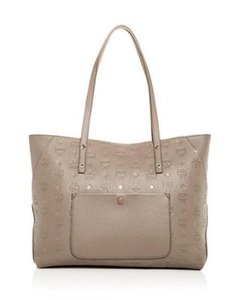 MCM Tote in Taupe