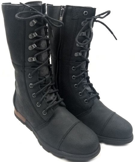 Sorel Seam Sealed Waterproof Black Boots Image 1