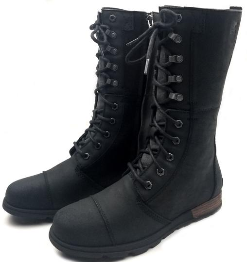 Sorel Seam Sealed Waterproof Black Boots Image 2