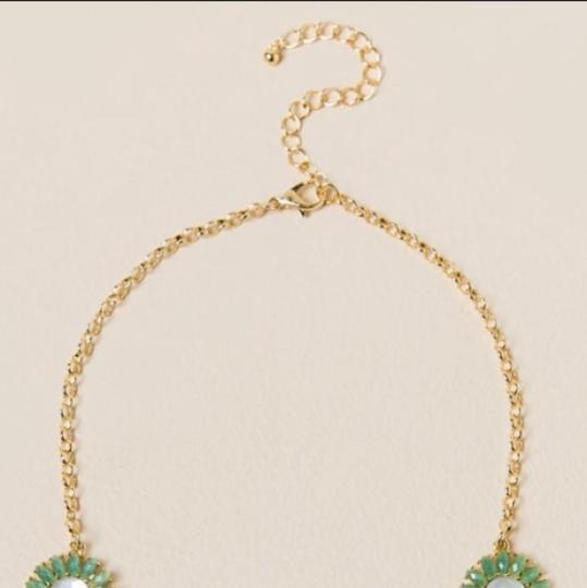 Anthropologie NWT Faceted Daisy Statement Necklace Image 2