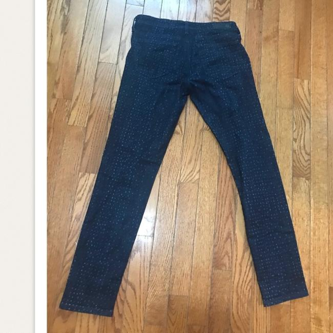 AG Adriano Goldschmied Dotteced Stevie Ankle Skinny Jeans Image 2