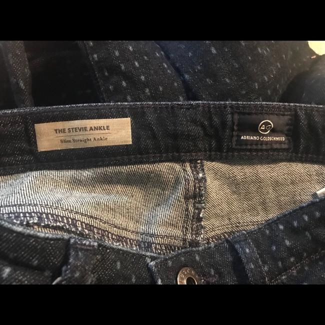 AG Adriano Goldschmied Dotteced Stevie Ankle Skinny Jeans Image 4