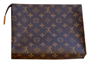 Louis Vuitton Toiletry Pouch Toiletry 26 Limited Edition Brown Clutch