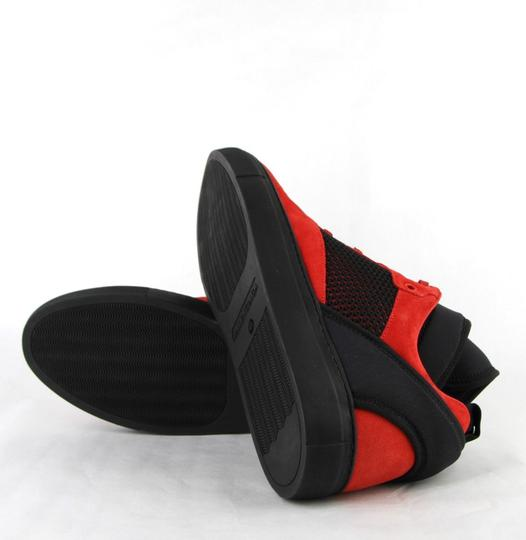 Balenciaga Black/Red Black/Red Suede Leather High Top Sneakers 46/Us 13 412349 6561 Shoes Image 10