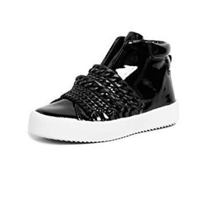 Kendall + Kylie black patent Athletic