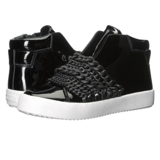Kendall + Kylie black patent Athletic Image 3