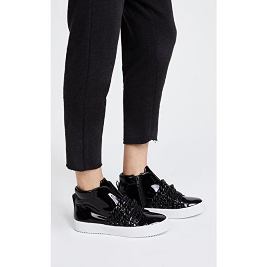 Kendall + Kylie black patent Athletic Image 4