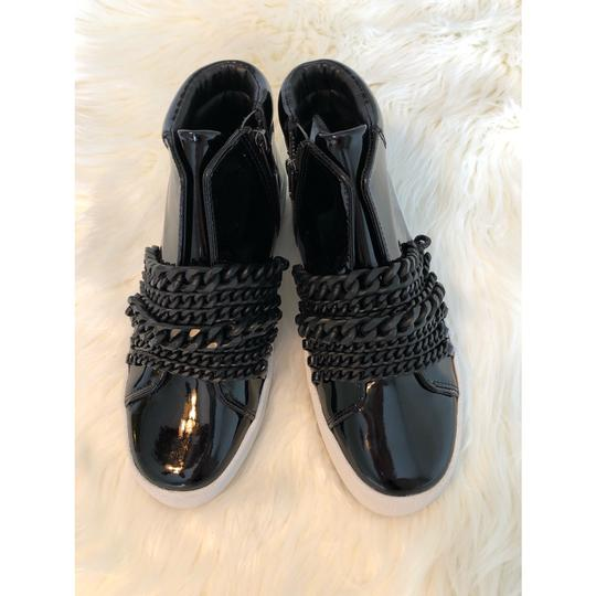 Kendall + Kylie black patent Athletic Image 5