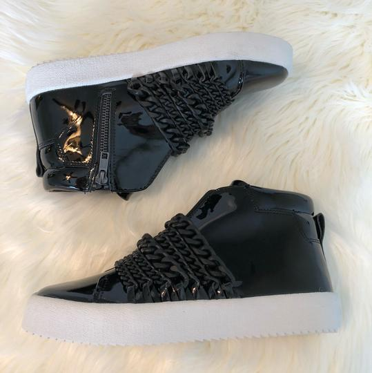 Kendall + Kylie black patent Athletic Image 6