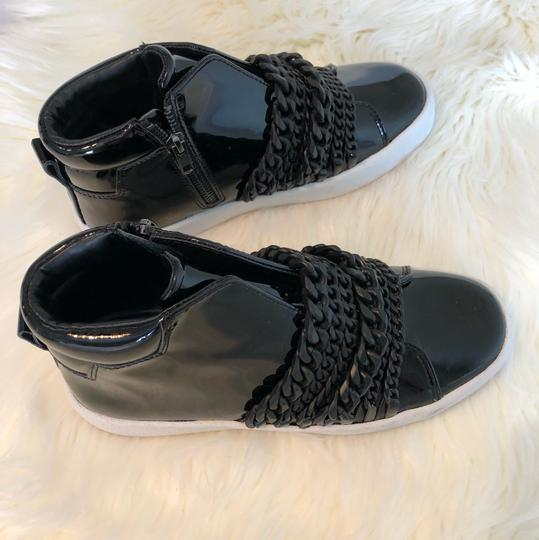 Kendall + Kylie black patent Athletic Image 7