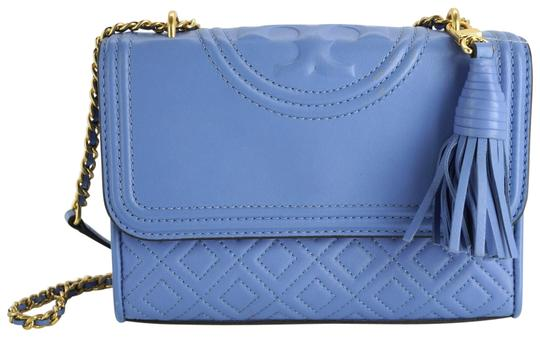 Tory Burch Chain Quilted Cross Body Bag Image 0