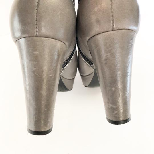 Anthropologie Gray Boots Image 4