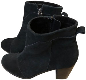 TOMS Suede Black Boots