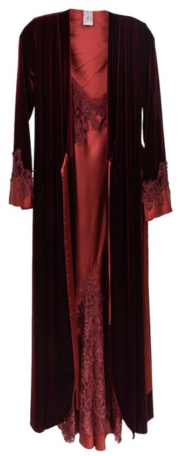 Item - Burgundy Red Jonquil Long Casual Maxi Dress Size 4 (S)