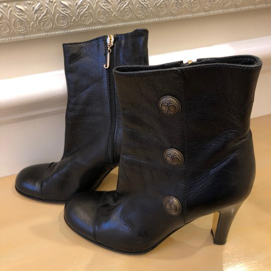 Juicy Couture 7m Leather Black Boots Image 1