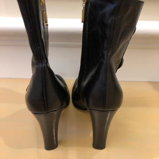 Juicy Couture 7m Leather Black Boots Image 2