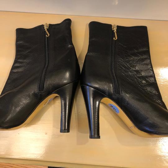 Juicy Couture 7m Leather Black Boots Image 3