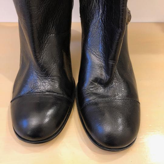 Juicy Couture 7m Leather Black Boots Image 5