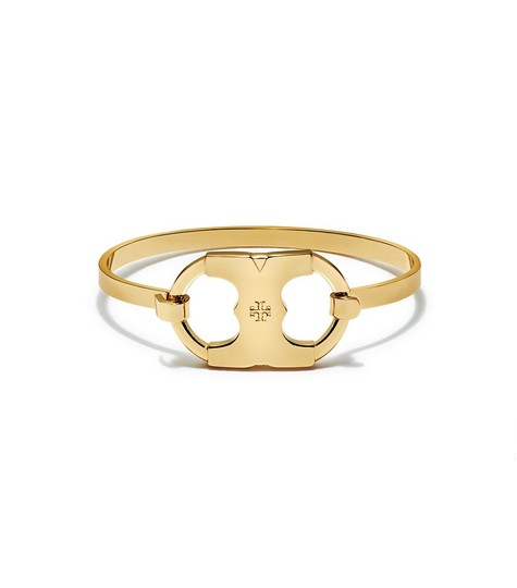 Tory Burch BRAND NEW Tory Burch Gemini Link I.D. Tag Bracelet with Dust Cover Image 1