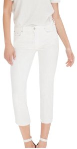 Mother Denim The Insider Stayin' Alive Capri/Cropped Pants