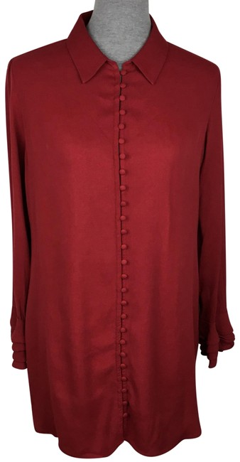 Preload https://img-static.tradesy.com/item/24432051/soft-surroundings-red-tunic-button-down-top-size-8-m-0-1-650-650.jpg