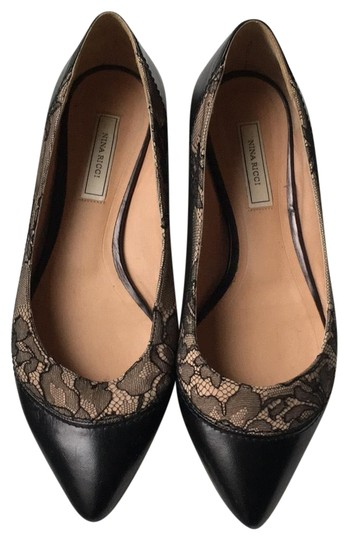 Preload https://img-static.tradesy.com/item/24432053/nina-ricci-multicolored-lace-flats-size-eu-37-approx-us-7-regular-m-b-0-1-540-540.jpg