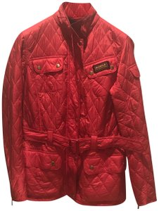 Barbour Quilted Lightweight International Red Jacket
