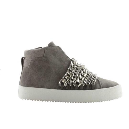 Kendall + Kylie gray suede Athletic Image 1