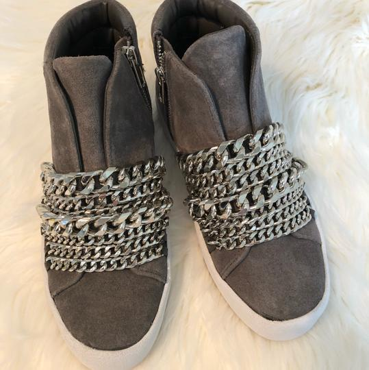 Kendall + Kylie gray suede Athletic Image 6